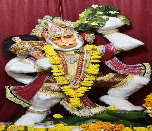 शास्त्रीनगर स्थित श्रीवीर हनुमान वाटिका