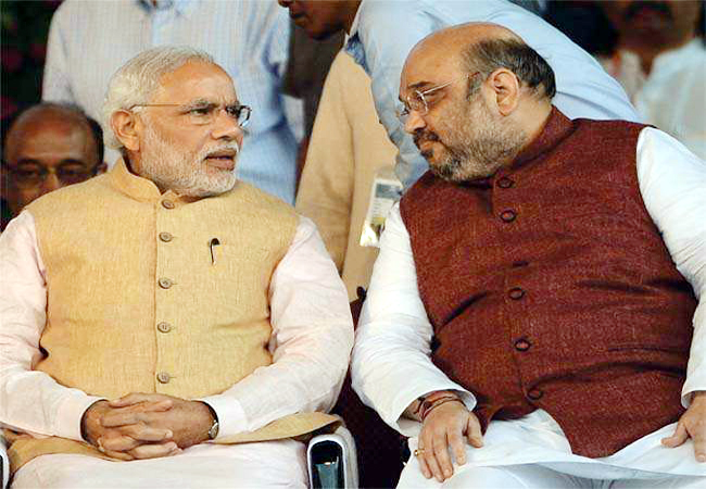 pm modi and amit shah file photo