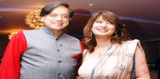 sashi tharur~sunanda file photo