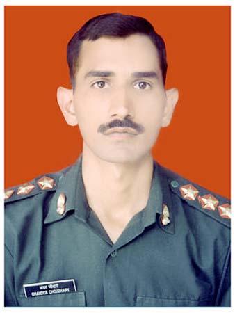 Bikaner Shahid Captain Chandra Chaudhary