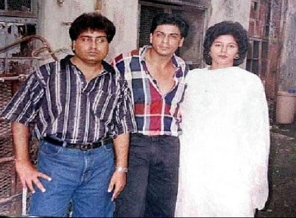 शाहरुख खान के साथ चचेरी बहन नूरजहां (फाइल फोटो)।