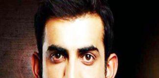 Indian cricketer Gautam Gambhir