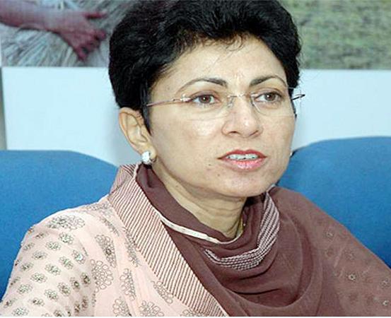 Congress Leader Kumari Shelja
