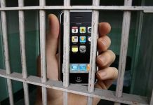 mobile in jail