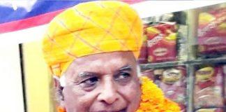 Rajasthan bjp President Madan Lal Saini