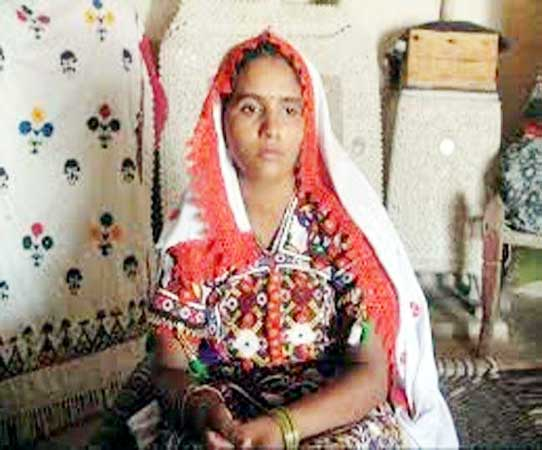 Hindu women Sunita Parmar n the Tharparkar assembly constituency of Pakistan.