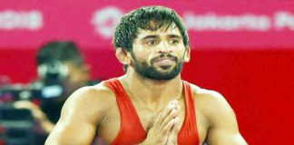 Indian Wrestler Bajrang Poonia