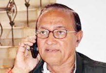 Congress Leader Dr BD Kalla