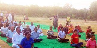 Bikaner Yoga camp