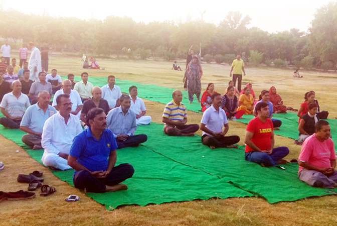 Bikaner Yoga camp