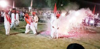 fire dancs in katriyasar