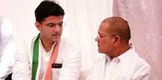 Sachin pilot-Rameshwar Dudi file photo