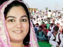 Congress MLA Zahida Khan