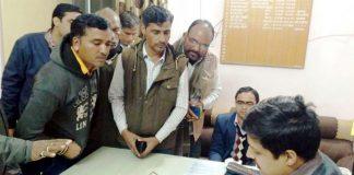 बीकानेर के छत्तरगढ़ उपखंड कार्यालय में जन सुनवाई के दौरान कलक्टर कुमारपाल गौतम।