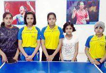 विंग्स टेबल टेनिस एकेडमी के खिलाडिय़ों ने लगाई मैडल की झड़ी