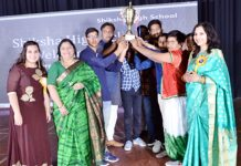 Many colors of culture earned by students in 'Yuverang' of Shiksha High School