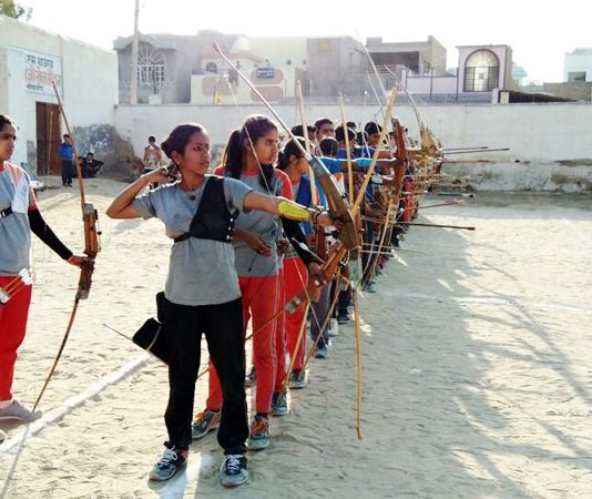 bikaner archery competition