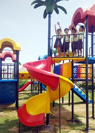 Shiksha High School Park Bikaner